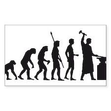 evolution blacksmith Decal