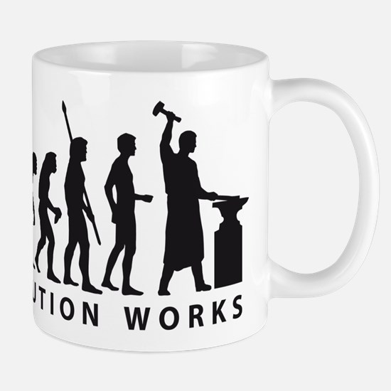 evolution blacksmith Mug