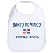 Santo Domingo Dominican Republic Designs Bib