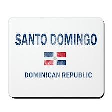 Santo Domingo Dominican Republic Designs Mousepad