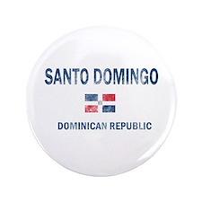 """Santo Domingo Dominican Republic Designs 3.5"""" Butt"""