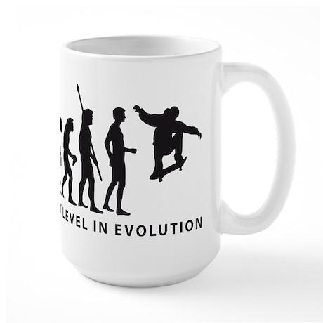 evolution skater Large Mug