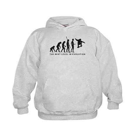 evolution skater Kids Hoodie