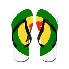 Zaire Roundel Flip Flops