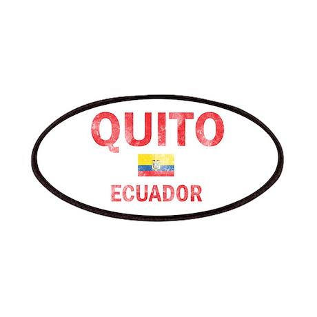 Quito Ecuador Designs Patches
