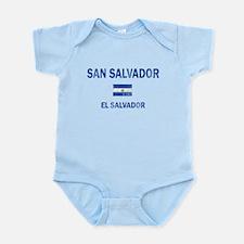 San Salvador El Salvador Designs Infant Bodysuit