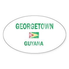 Georgetown Guyana Designs Decal
