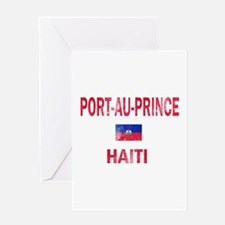 Port-au-Prince Haiti Designs Greeting Card