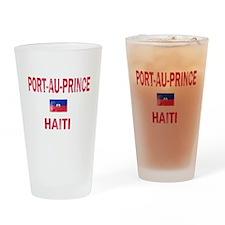 Port-au-Prince Haiti Designs Drinking Glass