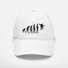 skateboard evolution Baseball Baseball Cap