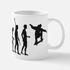 skateboard evolution Mug
