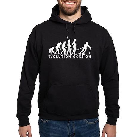 evolution skiing Hoodie (dark)