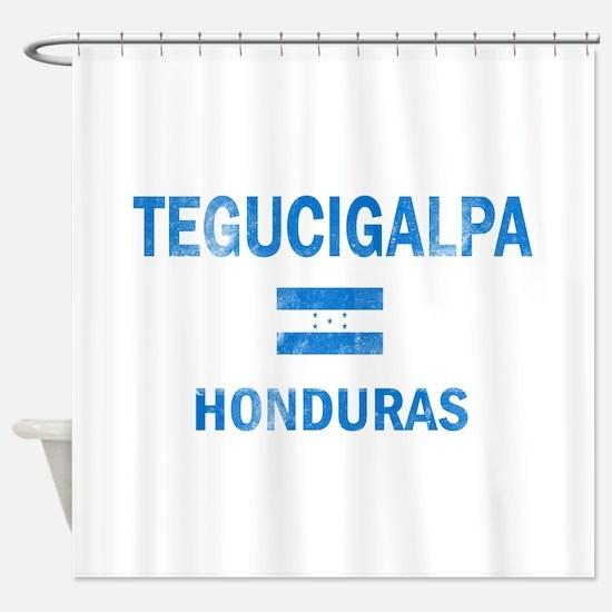 Tegucigalpa Honduras Designs Shower Curtain