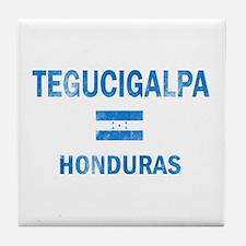 Tegucigalpa Honduras Designs Tile Coaster