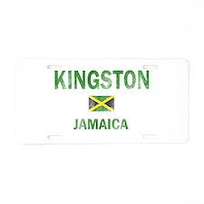 Kingston Jamaica Designs Aluminum License Plate