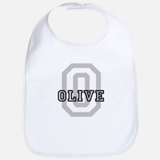 Olive (Big Letter) Bib