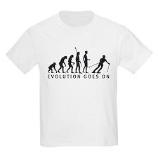 evolution skiing T-Shirt