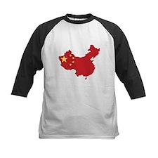 Flag Map of China Tee