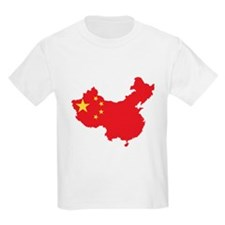 Flag Map of China T-Shirt