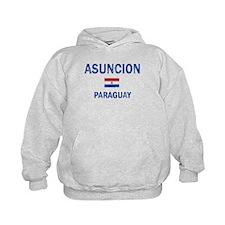 Asuncion Paraguay Designs Hoodie