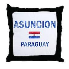 Asuncion Paraguay Designs Throw Pillow