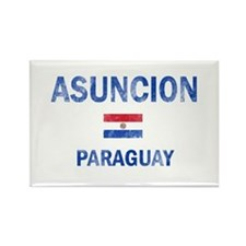Asuncion Paraguay Designs Rectangle Magnet
