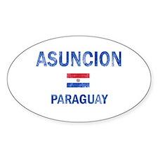 Asuncion Paraguay Designs Decal