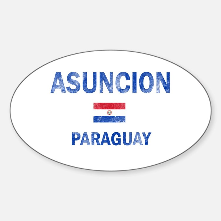 Asuncion Paraguay Designs Decal