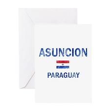 Asuncion Paraguay Designs Greeting Card