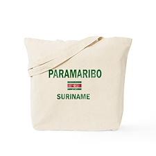 Paramaribo Suriname Designs Tote Bag