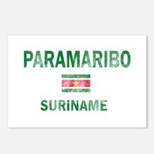 Paramaribo Suriname Designs Postcards (Package of