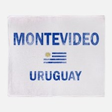 Montevideo Uruguay Designs Throw Blanket