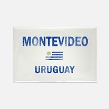 Montevideo Uruguay Designs Rectangle Magnet