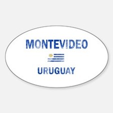 Montevideo Uruguay Designs Decal