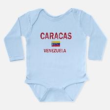 Caracas Venezuela Designs Long Sleeve Infant Bodys