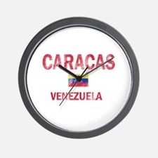 Caracas Venezuela Designs Wall Clock