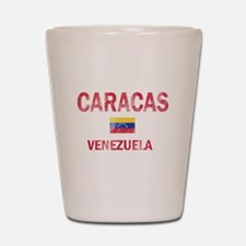 Caracas Venezuela Designs Shot Glass