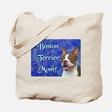 Boston Terrier Mom Tote Bag