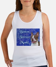 Boston Terrier Mom Women's Tank Top