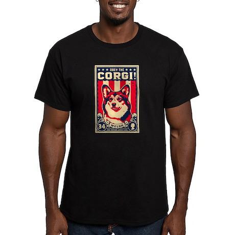 corgi_usa_blk_tee T-Shirt