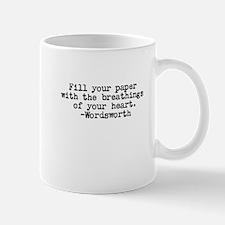 Wordsworth quote Mug