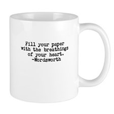 Wordsworth quote Mug
