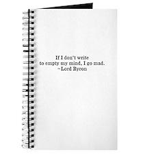 Cute Byron Journal
