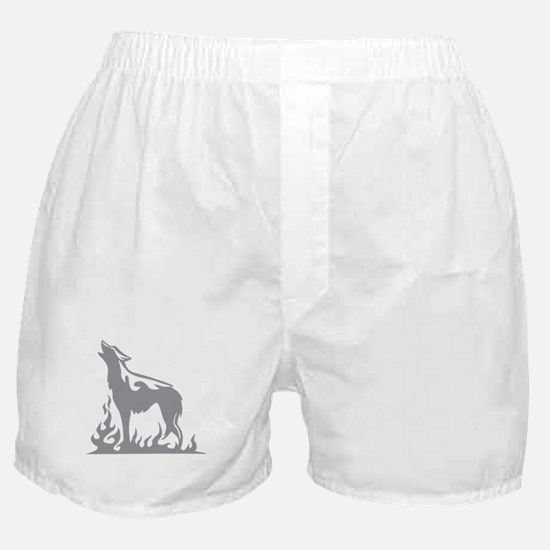 Wolf Flames Boxer Shorts