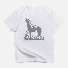 Wolf Flames Infant T-Shirt