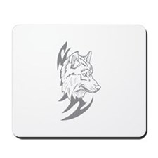 Tribal Wolf Mousepad