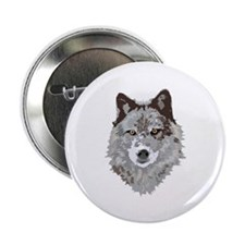 "Wolf 2.25"" Button (100 pack)"