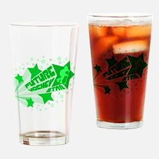 Future Hockey Star Drinking Glass