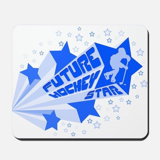 Future Hockey Star Mousepad