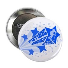 """Future Hockey Star 2.25"""" Button (10 pack)"""